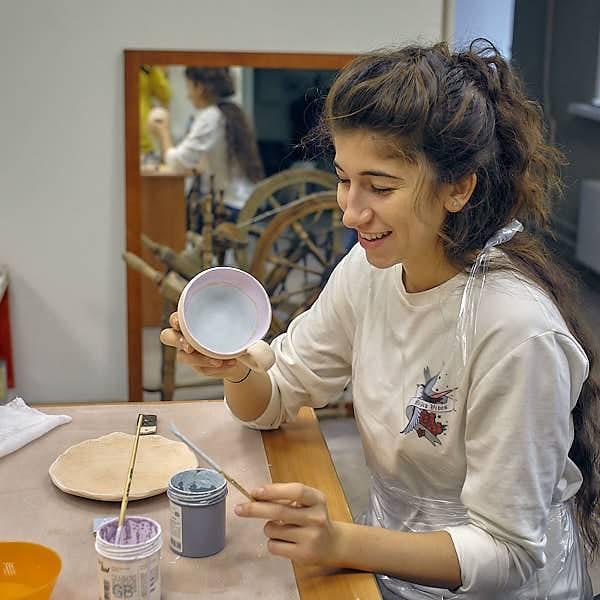 Мастер-класс роспись керамики